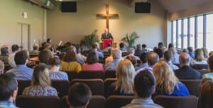 Scott Churnock Leading Worship at Christ Presbyterian Church